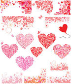 Design for Valentines Day party — Foto Stock