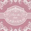 Wedding invitation — Stockvektor #39007115