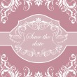Stock vektor: Wedding invitation