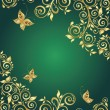 Vecteur: Ornate gold background