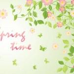 Spring blossom — Stock Vector #43545727