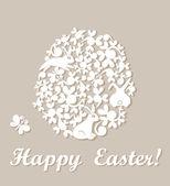 Easter applique — Stock vektor