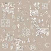 Pastel winter wallpaper — Stock Vector