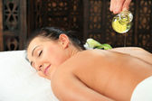 Woman Massage — Stock Photo