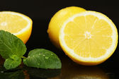 Lemons fruits — Stock Photo