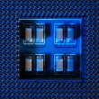 Circuit Board Background, Processor Socket - Stockfoto