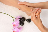 Feet Massage — Stock Photo