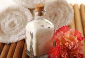 Bath salt — Stock Photo