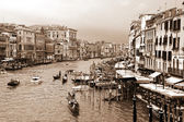 Canale grande w wenecji — Zdjęcie stockowe