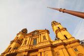 Theatine Church of St. Cajetan in Munich — Stock Photo
