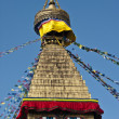 The biggest stupa of Kathmandu, Nepal — Foto de Stock