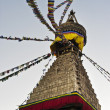 Stock Photo: Biggest stupof Kathmandu, Nepal