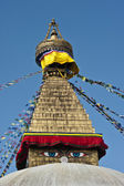 The biggest stupa of Kathmandu, Nepal — Stock Photo