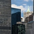 Stock Photo: Lower Manhattan Skyline and Skyscrapers