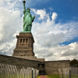 Frihetsgudinnan på liberty island i new york city — Stockfoto #19942157