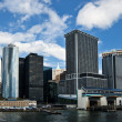Manhattan skyline in New York — Stock Photo