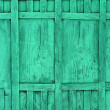Green fence — Foto de Stock