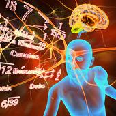 Humano as células nervosas — Foto Stock