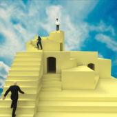 Klimmen ladder — Stockfoto