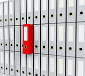 Segregatory biurowe — Zdjęcie stockowe