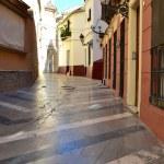 Malaga Street — Stock Photo