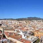 Aerial view Malaga — Stock Photo #20016093