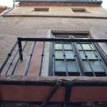 Window of a house in Malaga — Stock Photo