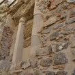 Part of a wall of a church in malaga — Foto Stock
