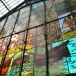 Market stained glass Malaga — Stock Photo #20614601
