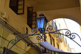 Antiguo callejón málaga — Foto de Stock