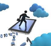 Ipad Cloud — Stock Photo