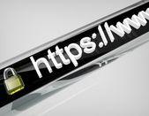 веб-сайт безопасности — Стоковое фото