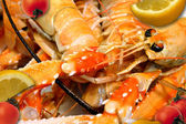 Crayfish, crustaceans — Stock Photo
