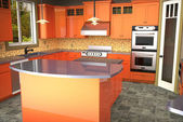 Decoração de cozinha — Foto Stock