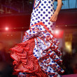 Flamenco fashion Show — Stock Photo