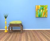 Living room — Foto Stock