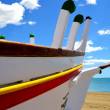 Stock Photo: Boat on the beach