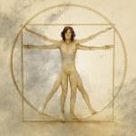 Vitruvian Man — Stock Photo #26081739