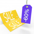 Sale card — Foto Stock