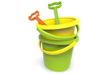 Pail and Shovel — Stock Photo