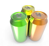 Aluminum cans — Stock Photo