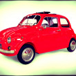 Small car Italian Retro — Stock Photo