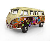 Hippie bus — Stock Photo