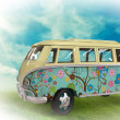 Stock Photo: Hippie bus