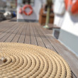 Strings of A Sailing Vessel — Stok fotoğraf