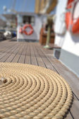 Strings of A Sailing Vessel — Stock Photo