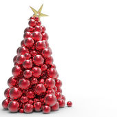 Christmas tree balls — Stock Photo