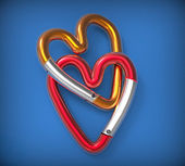 Snap Hook Heart — Foto Stock