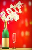 Kutlama, yeni yıl 2014 — Stok fotoğraf