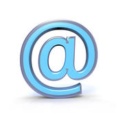 Email Sign — Stock Photo